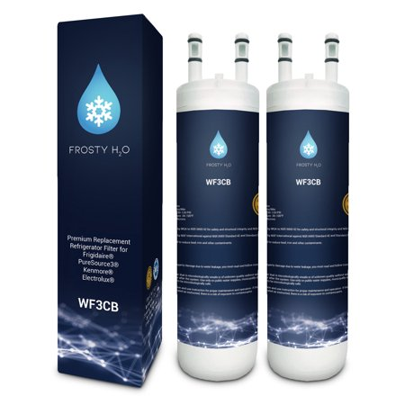 WF3CB Frigidaire Water Filter Replacement Compatible with Frigidaire WF3CB  Puresource 3 Puresource3 Electrolux Refrigerator Water Filter (2 Pack)
