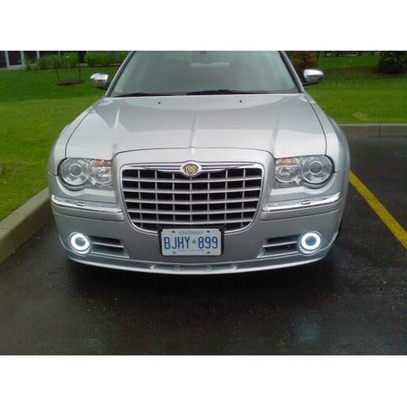 2005-2010 Chrysler 300 300C Halo Fog Lamps Angel Eye Lights ()