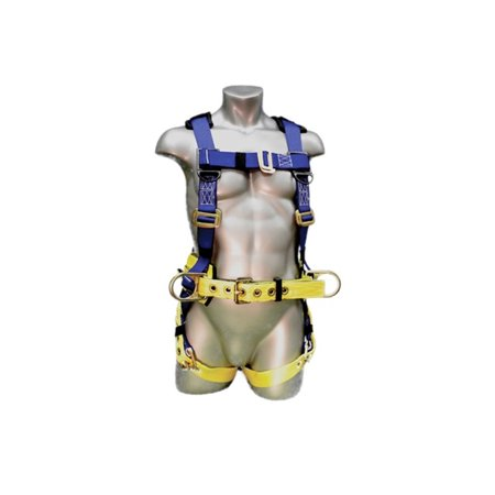 elk river 75302 workmaster harness, tb, three d-rings: at back & hips, m