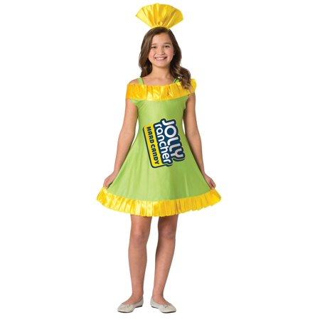Jolly Rancher Dress - Apple Child Halloween Costume