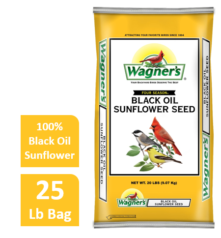 40 LB Wagner's Four Season Sunflower Wild Bird Food by Wagner's LLC