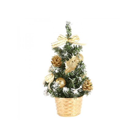 Ingzy 20/30/40cm Table Decorative Christmas Tree Festival Party Ornament ()