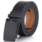 "Marino Avenue Genuine Leather belt for Men, 1.3/8"" Wide, Casual Ratchet Belt with Automatic Linxx Buckle"