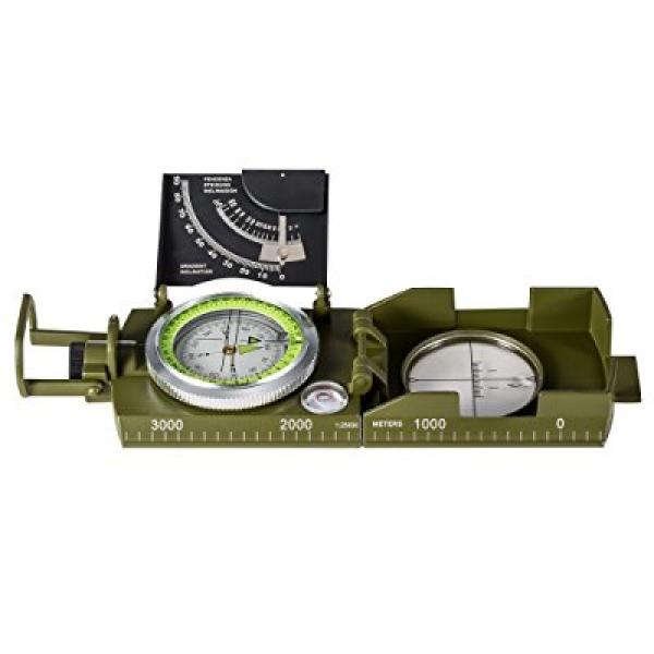 Click here to buy BNISE Military Marching Compass Waterproof and Shakeproof Army Pocket Size Easy Map Navigation Survival & Mapping Gear for Outdoor, Camping....