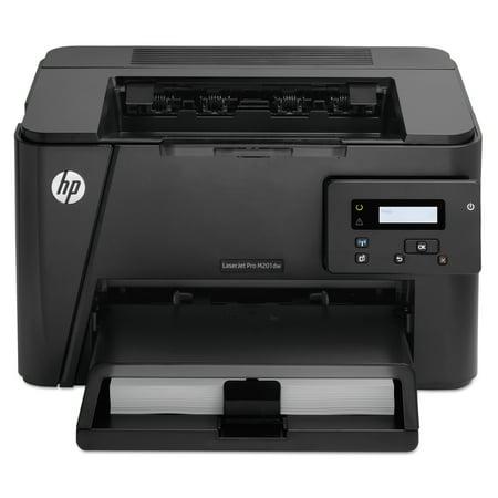 Hp Laserjet Pro M201dw Wireless Laser Printer Walmartcom