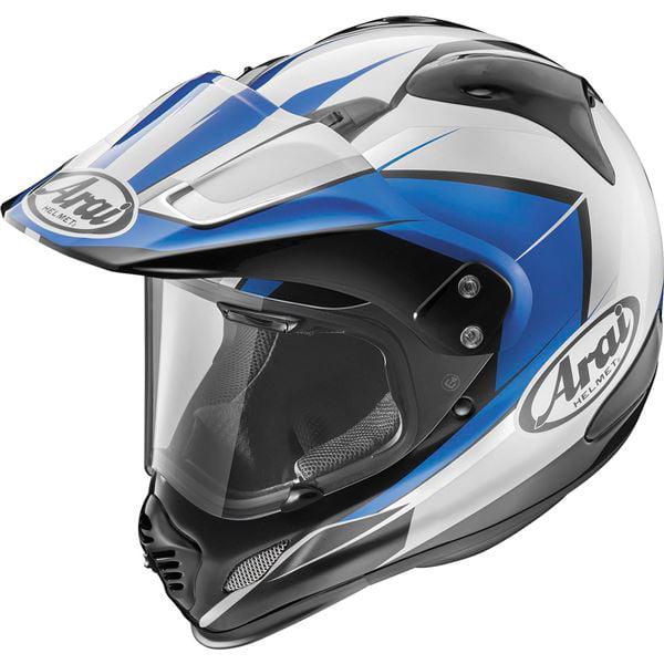 Arai XD4 Flare Blue Dual Sport Helmet