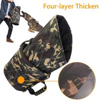 4 Layer Thicken Dog Training Bite Arm Sleeve Safty Protection For German Shepherd Police Young Dogs