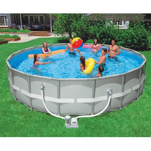 "Intex 18' x 48"" Ultra Frame Swimming Pool"