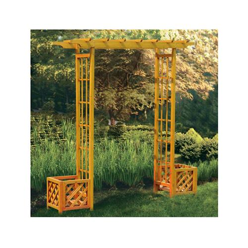 Sunjoy Group Intl Pte L Ab024pwd 4 Garden Arbor With Flower Boxes
