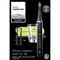 Philips Sonicare DiamondClean Electric Toothbrush with 3 DiamondClean Brush Heads