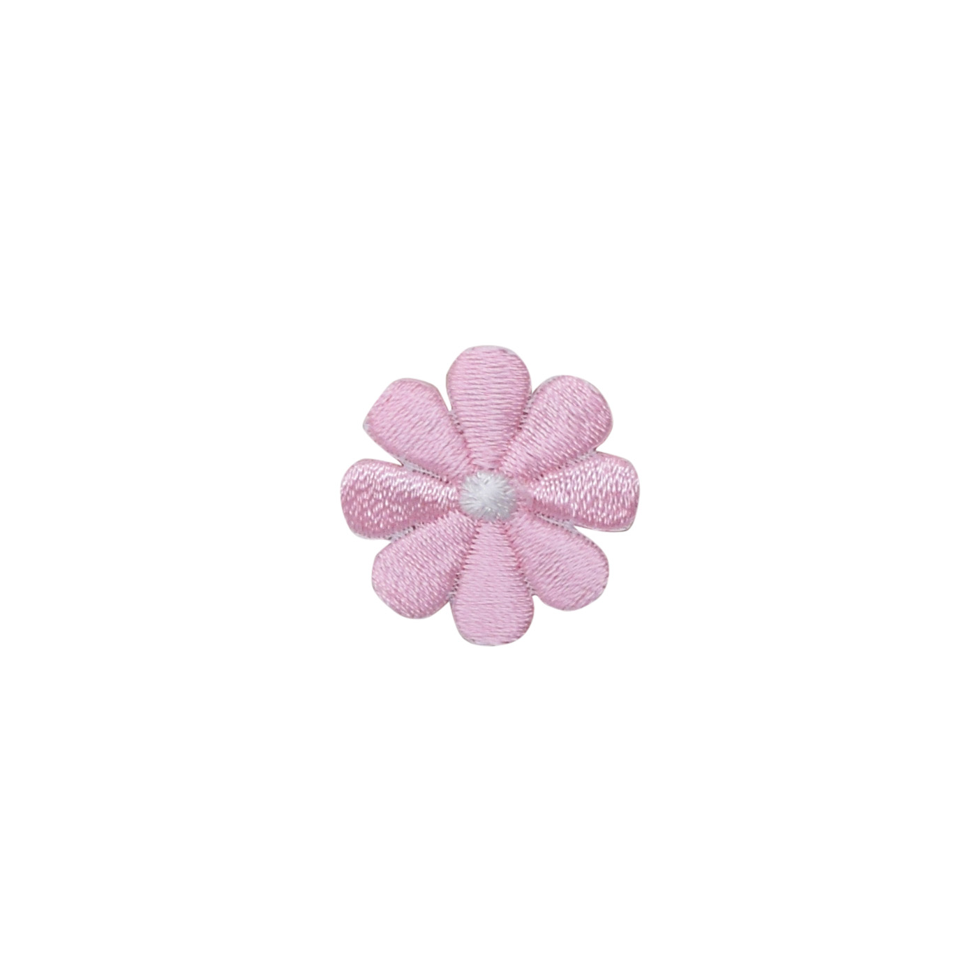 PINK DAHLIA FLOWER IN BLOOM Embroidered Sew Iron On Cloth Patch Badge APPLIQUE
