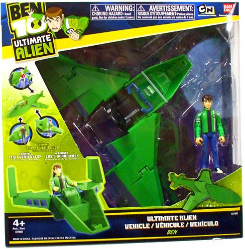 "Ben 10 Ultimate Alien Wing Fighter 4"" Action Figure Vehicle by"
