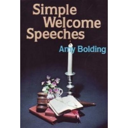 Simple Welcome Speeches (Pocket Pulpit Library) - eBook ()