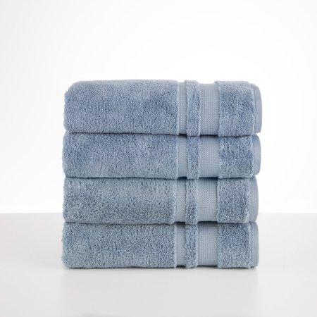 Luxury Supima Spa Blue Bath Towel