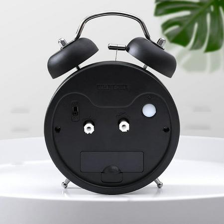 Creative Metal Alarm Clock with Night Light Mechanical Alarm Clock Fashion Multifunctional Personality Student Alarm Clock - image 3 of 6