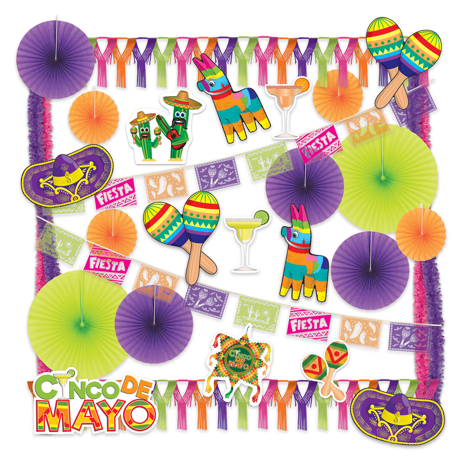 Cinco De Mayo Decorating Kit