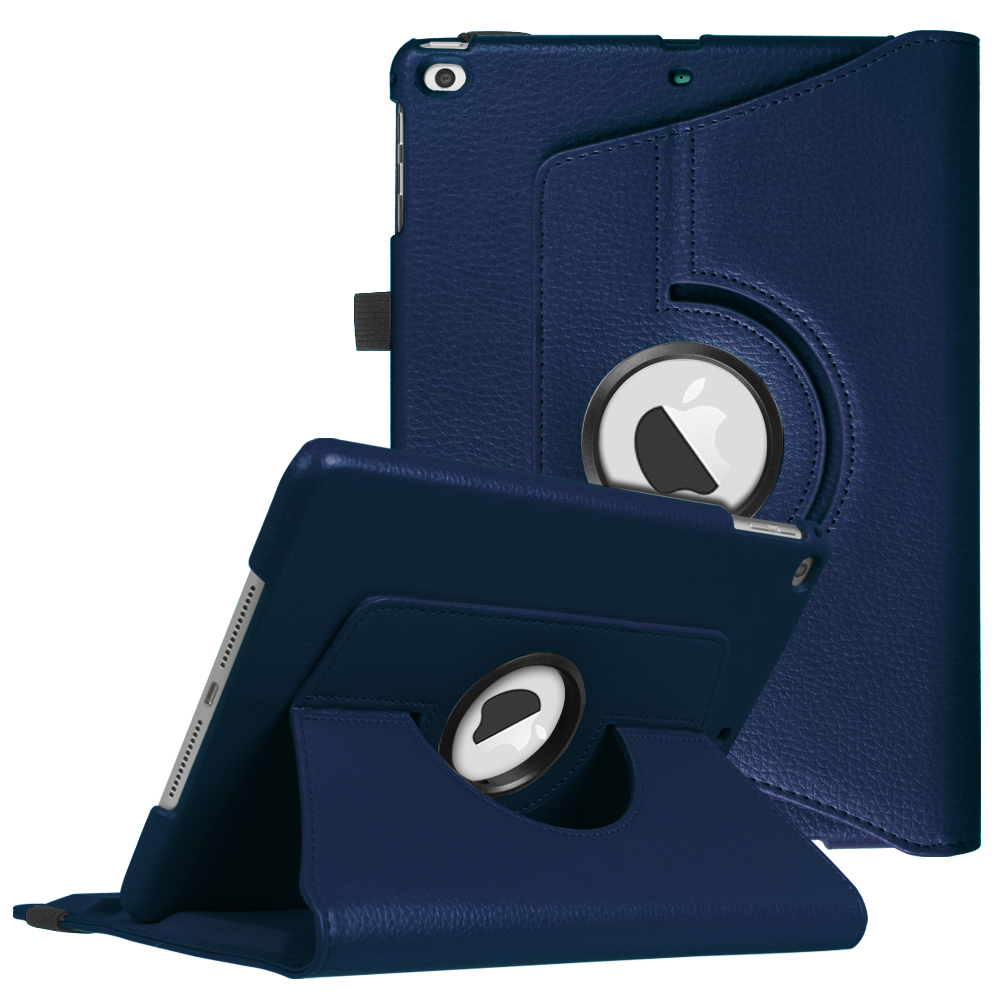 Fintie iPad 6th / 5th Gen, iPad Air /Air 2 Multiple Angles Stand Case Cover with Auto Sleep Wake, Navy