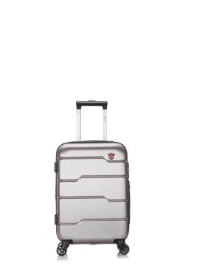 bf390e1e41 Product Image DUKAP Rodez Lightweight Hardside Spinner 20   inches carry-on  Black
