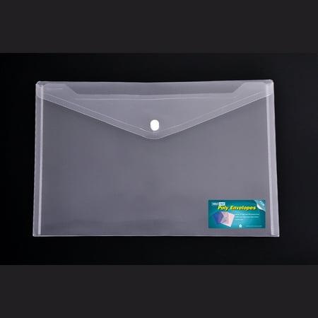 - Clear Envelopes Snap Closure Letter size , 24pcs Value pack