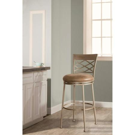 Hillsdale Furniture Hutchinson Swivel Bar Stool