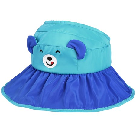 ca304774 Kids Outdoor Sun Cap-Vbiger Cute Kids Sunhat Adorable Bear Empty Top Hat  Foldable Outdoor Sun Cap Protective Wide Brim Hat Stylish Beach Cap for  4-10 Years ...