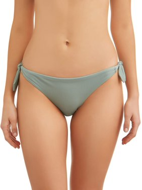 00dd02905 Product Image Juniors  Bunny Rib Side Tie Swimsuit Bottom
