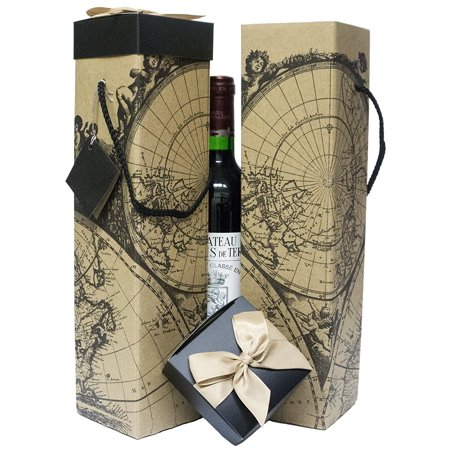 Wine gift box x2 reusable caddy easy to assemble no glue wine gift box x2 reusable caddy easy to assemble no glue required gumiabroncs Gallery