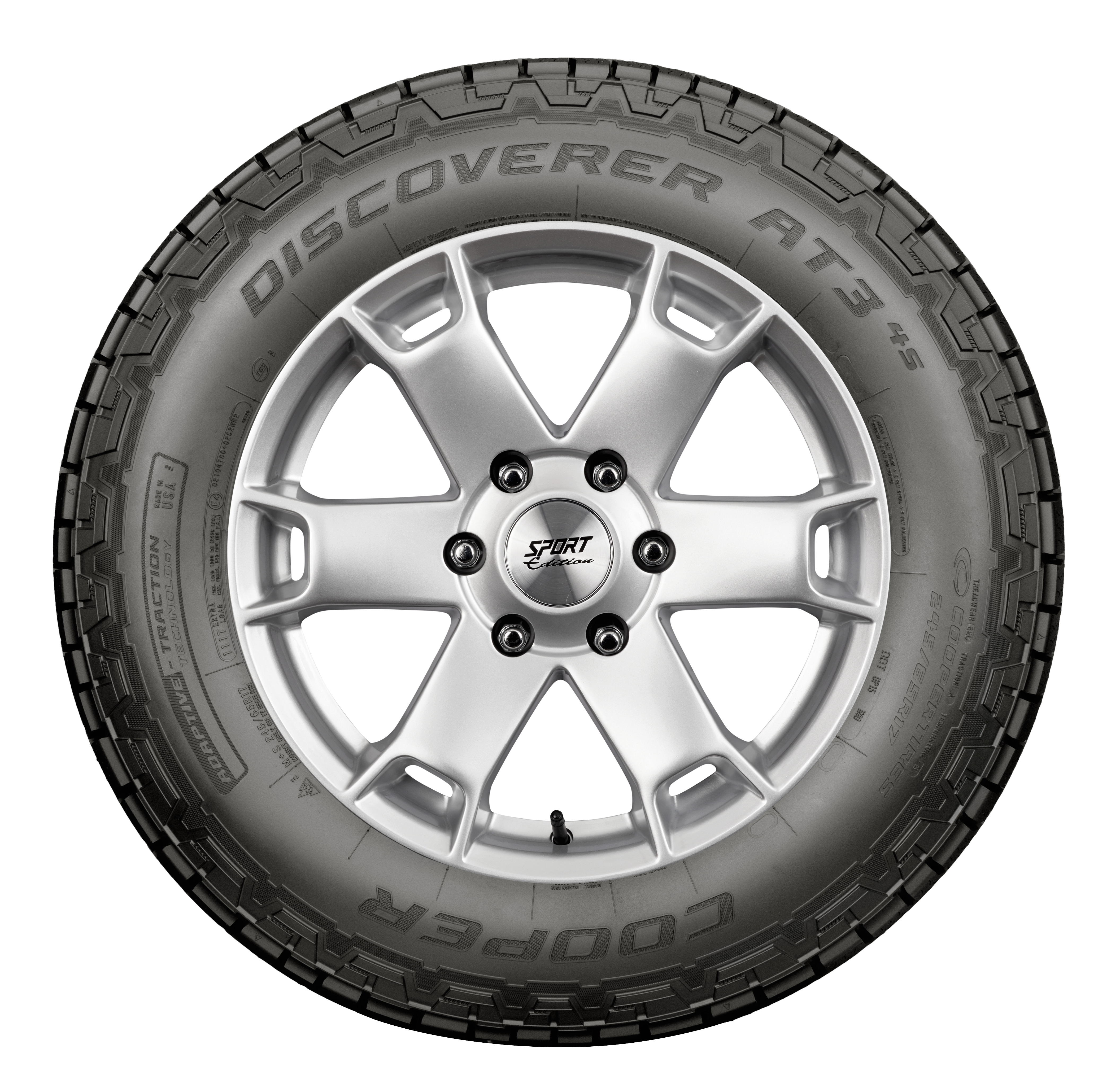Cooper Discoverer At3 4s All Terrain Tire 26575r16 116t
