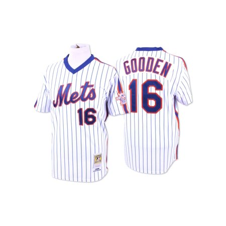 Dwight Gooden New York Mets Mitchell & Ness Authentic MLB 1986 Pullover Jersey by