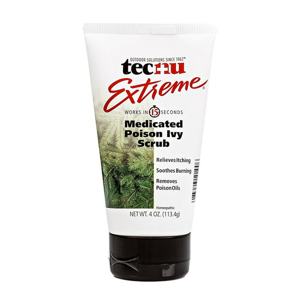 TECNU Extreme Medicated Poison Ivy Scrub