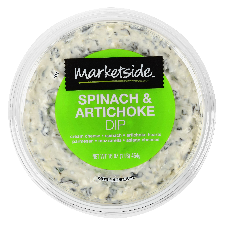 Marketside Spinach & Artichoke Dip, 16 oz