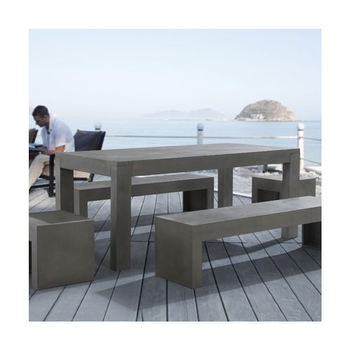 Beliani Taranto 5 Piece Dining Set