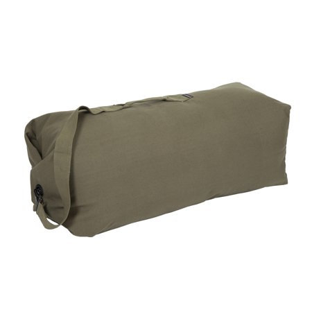 Stansport 1220 36-Inch Top Load Canvas Deluxe Duffel Bag
