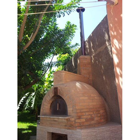 Canvas Print Wood Fired Oven Stone Oven Bread Oven Stretched Canvas 10 x 14 ()