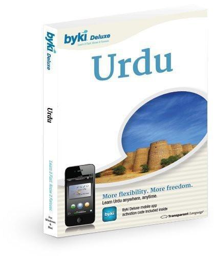 Transparent Language Byki Urdu Language Tutor Software & Audio Learning CD-ROM for Windows & Mac