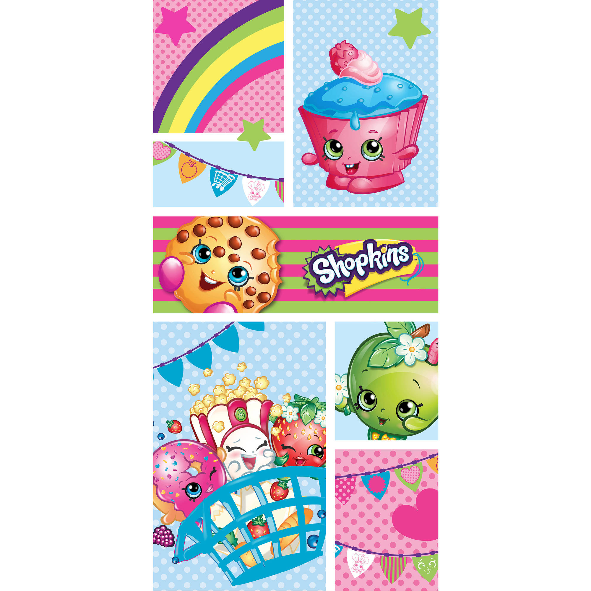 Shopkins All Together Beach Towel