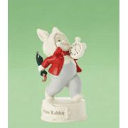 Department 56 Snowbabies Alice in Wonderland White Rabbit 2012