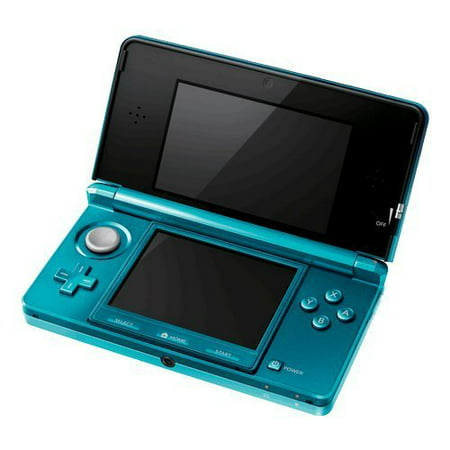Refurbished Nintendo 3DS Aqua Blue (2ds Refurbished)