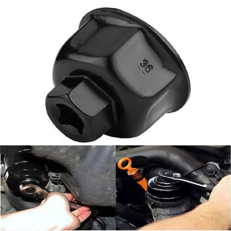 Hilitand 36mm 3/8  Car Oil Filter Wrench Cap Socket Drive Remover Tool for BMW X5 Audi A6L A8L, Oil Filter Cap, Oil Filter