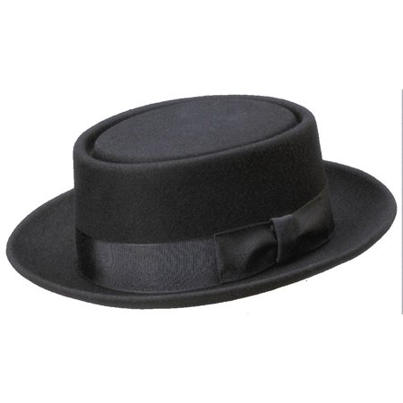 Delux Animal Hats (Deluxe Felt Heisenberg Pork Pie Black Hat )