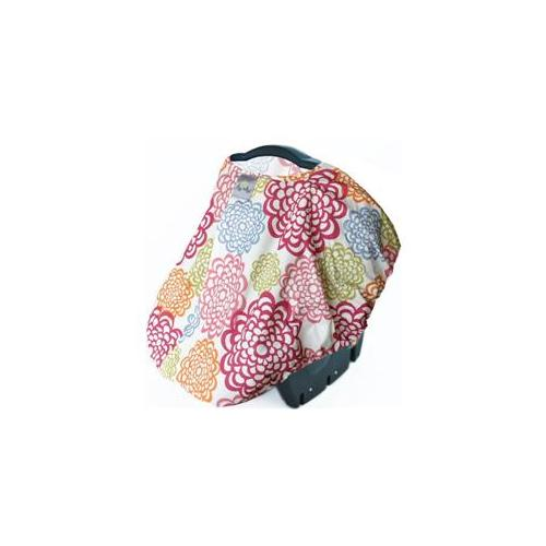 Itzy Ritzy Peek-A-Boo Infant Carrier Pod - Fresh Bloom