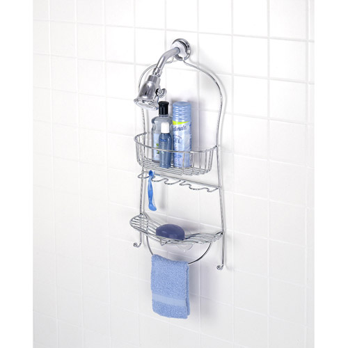 Chrome Shower Caddy by Zenith Products