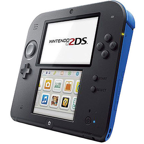 Nintendo 2DS Handheld Video Game System, Electric Blue