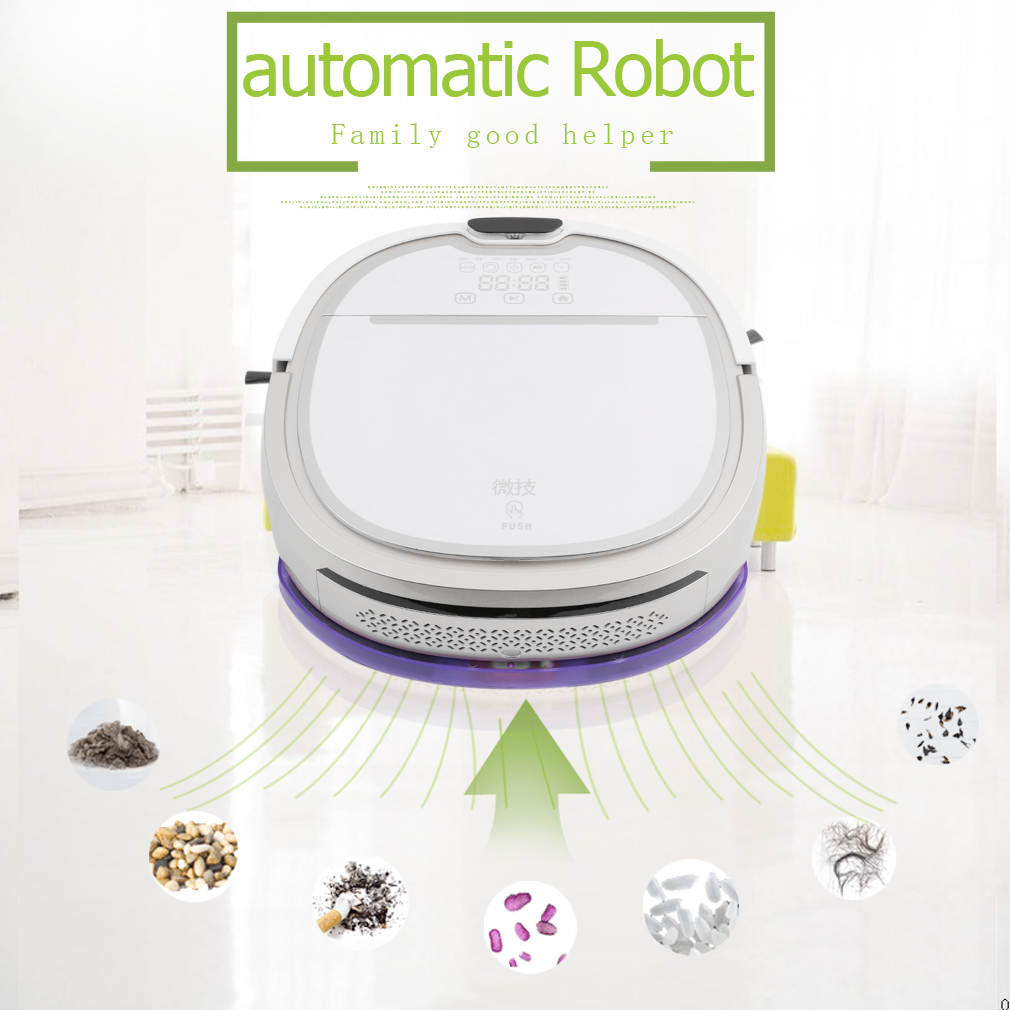 VS001 Automatic Intelligent Sweeper Auto Vacuum Cleaner S...