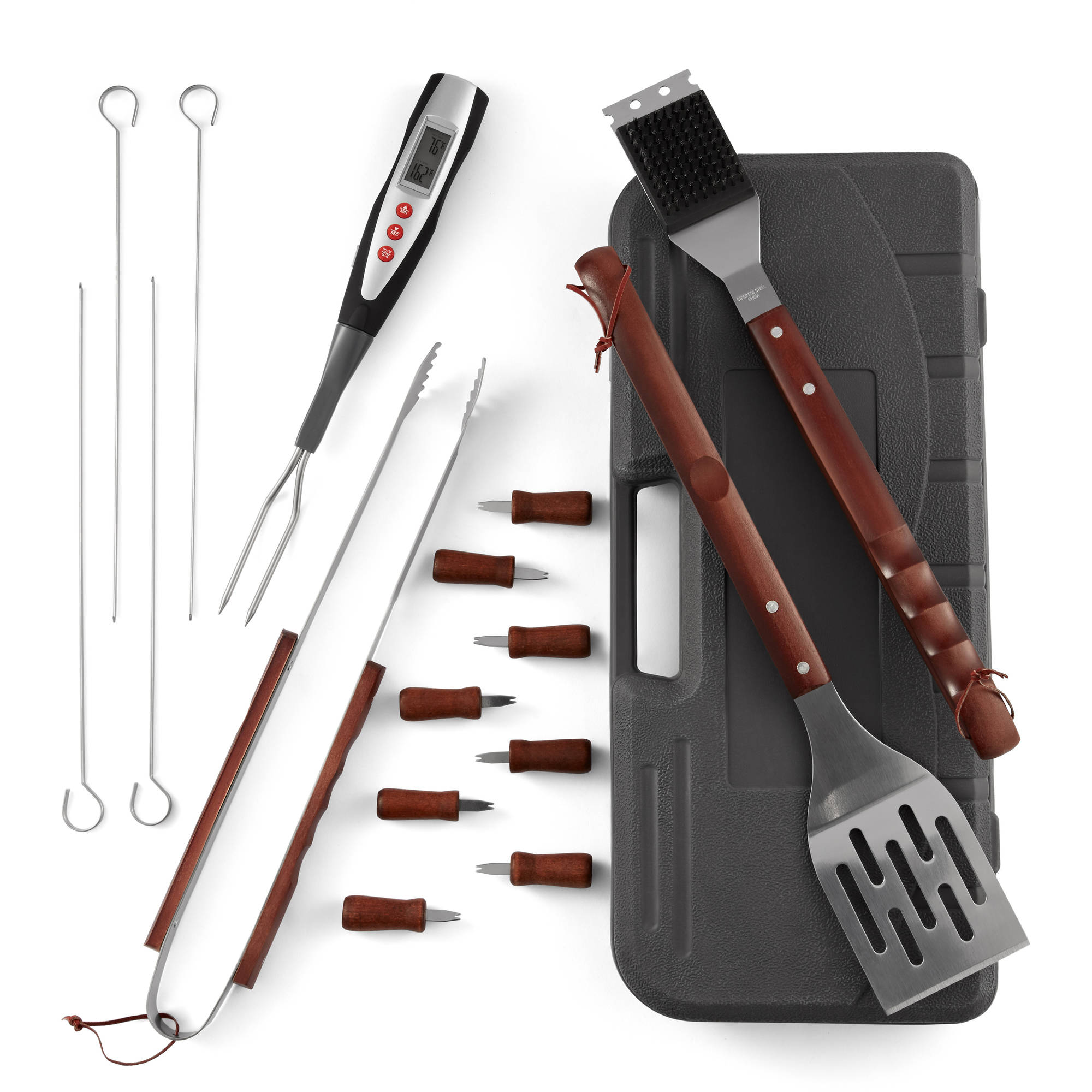 expert grill 17piece grilling tool set - Grilling Tools