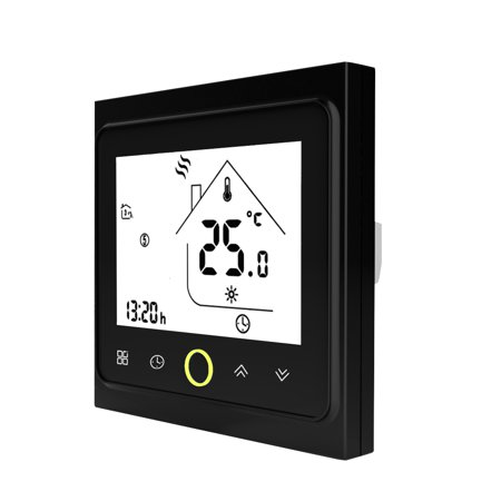 3A Water/Gas Boiler Heating Thermostat with Touchscreen LCD Display Energy Saving Smart Thermostat Temperature