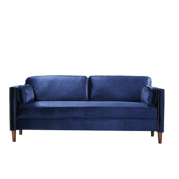2p 3p Living Room Blue Sofa Walmart Com Walmart Com