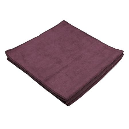 Simonis 860 Burgundy Cloth - 3pcs Burgundy Microfiber Cleaning Cloth Absorbent Car Washing Drying Towel 60 x 30cm