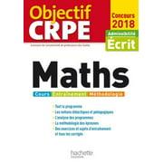 Objectif CRPE Maths - 2018 - eBook