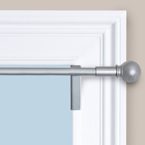 twist and shout smart curtain rod hardware image 2 of 4